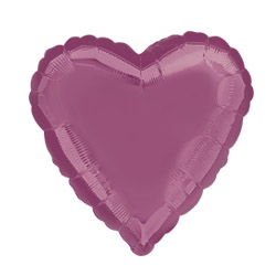 Metallic Lavender Heart