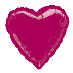 Burgundy Decorator Heart