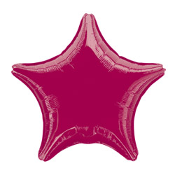 Burgundy Decorator Star