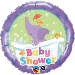 18P BABY SHWR ELEPHANT SF