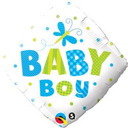 18P BABY BOY DOTS & DRGNFLY