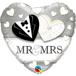 18P MR & MRS WEDDING