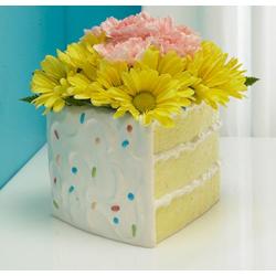 """4"""" CAKE SLICE PLANTER (1)"""