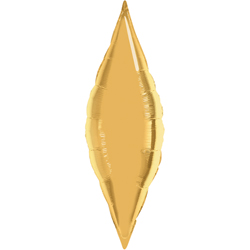 27P METALLIC GOLD TAPER