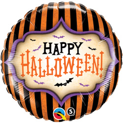 18P HALLOWEEN STRIPES
