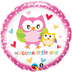 18P WELCOME LITTLE ONE PNK
