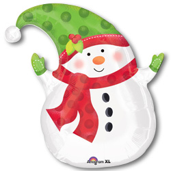 18A WINTER SNOWMAN JR SHP