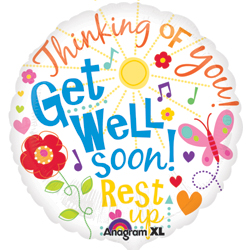18A GET WELL MESSAGES