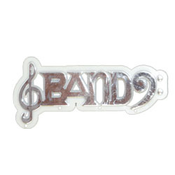 """3.5"""" BAND CHARM SILVER (1)"""