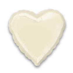Irides Prl Ivory Decor Heart