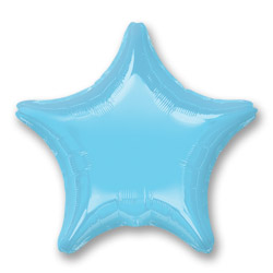 Irides Prl Lt Blue Decor Star