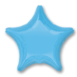 Pale Blue Decorator Star