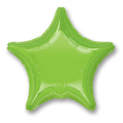 Irides Lime Grn Decor Star