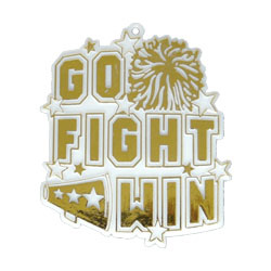 """2.5""""GO/FGHT/WIN CHRM WH/GD(1)"""