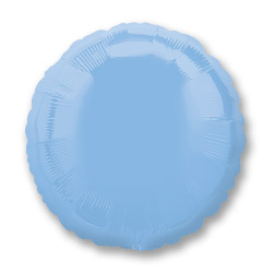 Pastel Blue Decorator Circle