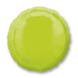 Kiwi Green Decorator Circle
