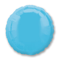 Carib Blue Decorator Circle