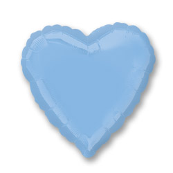 Pastel Blue Decorator Heart
