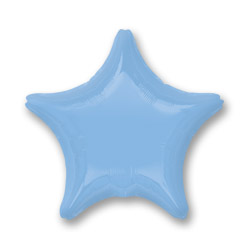 Pastel Blue Decorator Star