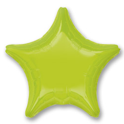 Kiwi Green Decorator Star