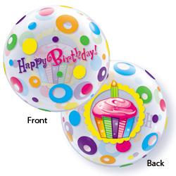 22P BIRTHDAY CUPCAKES & DOTS
