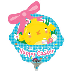 A MINI SHP EASTER CHICK BSKT