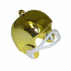 "1"" FTBALL HELMET GOLD 3 PC (1)"