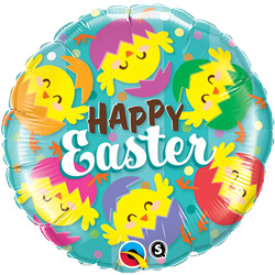 18P HAPPY EASTER CHICKS