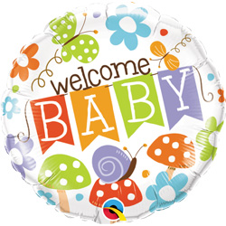 18P WELCOME BABY GARDEN