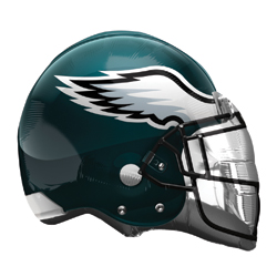 21A PHILADELPHIA EAGLES HELMET