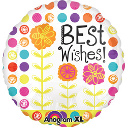 21A BEST WISHES FLORAL CB XL