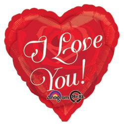 HX LOVE ROSE HEART