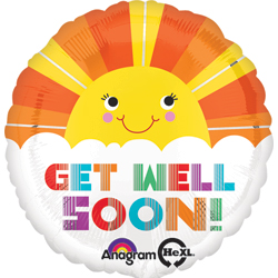 JHX GET WELL SMILEY SUNSHINE