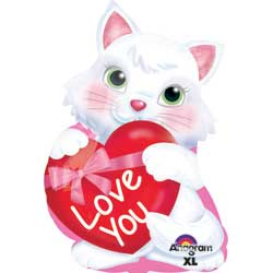 18A JR SHP KITTY W/ HEART