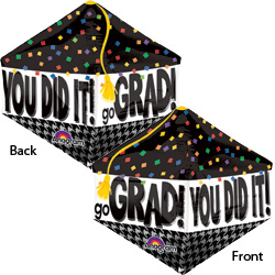 21A YOU DID IT GRAD CAP ANGLEZ