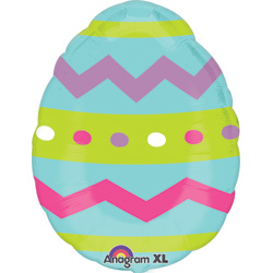 18A JR SHP EASTER EGG CHVRN