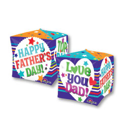 "15"" FATHERS DAY MESSAGES CUBEZ"
