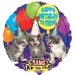 28A SAT HBD TO MEW CATS