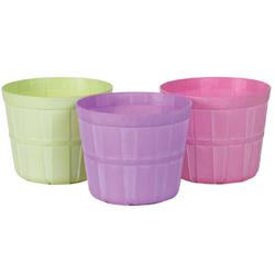 8.5 Plastic Azalea Pot Asst (3