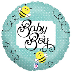 09B BABY BOY BEE HOLO
