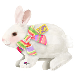 28A EASTER BUNNY W/BOW