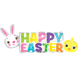 44A HAPPY EASTER BANNER