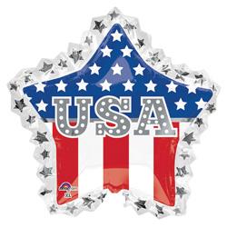 34A USA STAR RUFFLE