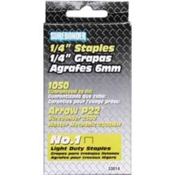 "1/4"" STEEL STAPLES (1050)"