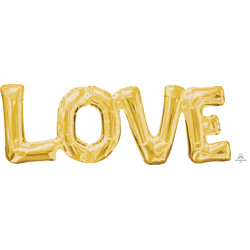 25A LOVE PHRASE GOLD