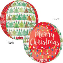 16A CHRISTMAS TREE & LIGHT ORB