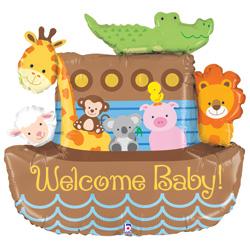 37B NOAHS ARK WELCOME BABY