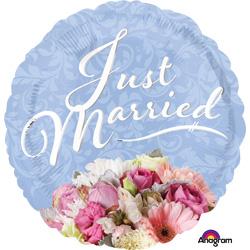 HX JUST MARRIED BOUQUET