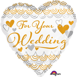 HX FOR YOUR WEDDING HEART