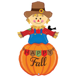 5ft B HAPPY FALL SCARECROW